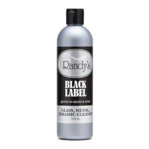 Randy's Black Label Glass Clreaner 12oz